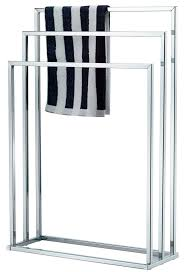 Free Standing Bathroom Shelves by Best 25 Free Standing Towel Rail Ideas On Pinterest Open Tip