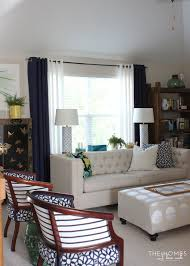 2 Tone Curtains The For Hanging Curtains In Your Rental The Homes I