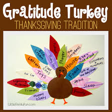 family gratitude turkey thanksgiving tradition