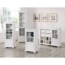 Sauder Bookcase With Glass Doors by Bookcase With Glass Doors White Black Bookcases With Glass