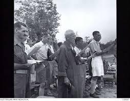 kuching sarawak borneo 1945 09 12 kuching civilians