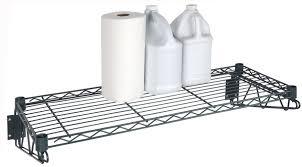 Wall Mount Wire Shelving by Freezer Wall Mount Shelving Kits By Omega Products Corp