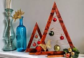 crate barrel hack wooden ornament trees 9 steps
