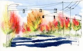 fleeting color urban sketchers