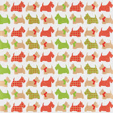 kraft recycled scottie dogs wrapping paper sheets the container
