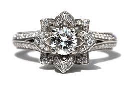 engagement rings flower design beautiful images of flower engagement rings ring ideas