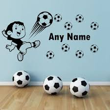 Sports Decals For Kids Rooms by Online Get Cheap Football Wall Decorations Aliexpress Com
