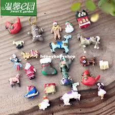 micro moss garden landscape doll mini tree ornaments