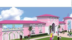 a dream house feminists protest barbie dreamhouse opening in berlin cnn travel