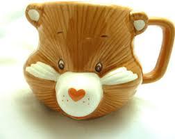 vintage care bears mug etsy
