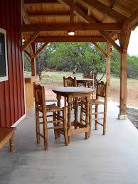 country barn home kit w open porch 9 pictures metal building