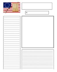 newspaper template for 13 colonies american revolution by 5th