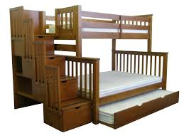 Wooden Bunk Bed With Stairs Best Bunk Beds With Stairs Safe For Children And Toddlers 2018