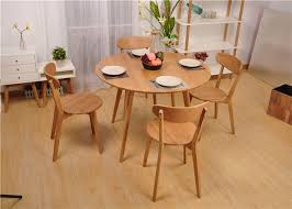 modern round dining room table modern round dining table and chairs hardwood dining room