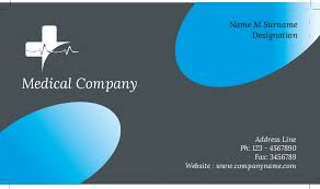 Medical Business Card Design Business Card