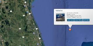 Where Is Port St Lucie Florida On The Map by Great White Shark Katharine Pops Up Off Vero Beach Videos Photos