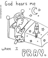 243 pray learn general coloring images
