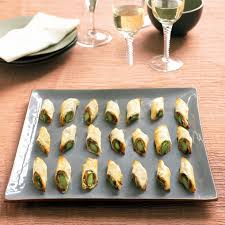 goats cheese canape recipes berry s asparagus filo rolls recipe canape recipes