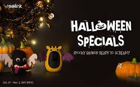 Halloween Sales Reolink Unveils Halloween Sales Up To 180 Off On Top Security