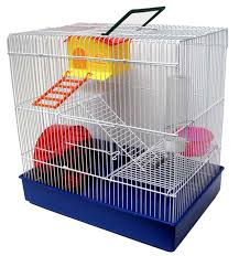 Hamster Cages Petsmart Amazon Com Yml H820 3 Level Hamster Cage Blue Small Animal