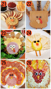 50 thanksgiving food ideas turkey treats food food