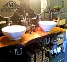 slab sink bathroom vanity rustic bathroom vanity reclaimed wood bathroom