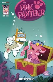 pink panther ongoing comic start bleeding cool