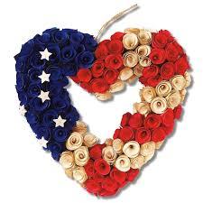 heart wreath wooden patriotic heart wreath current catalog