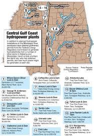 tombigbee waterway map hydropower generators eye dams on tombigbee and alabama rivers