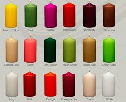 3 x 6 unscented pillar candles 12pcs wholesale