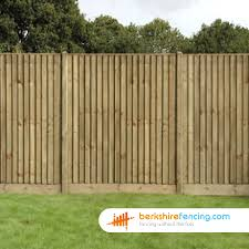 close board fence panels 5ft x 6ft brown berkshire fencing