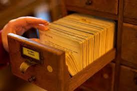 the last library card catalog cards neatorama