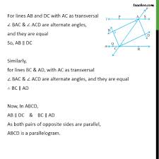 Example Of Alternate Interior Angles Example 4 Two Parallel Lines L And M Are Intersected Examples