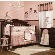 Baby Chandeliers Nursery Bedroom Girly Decorated Ideas Room With Dark Crib Foundation Color