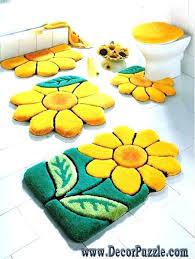 Yellow Bathroom Rug And Yellow Bathroom Rug Grey And Yellow Bathroom Rug Yellow Cotton