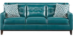 livorno aqua leather sofa tufted leather sofas couches