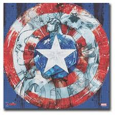captain america shield light target luxury captain america wall decor images wall painting ideas