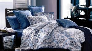 King Comforter Bedding Sets Luxury Turquoise Blue Green Bedding Set Silk King Size Queen Quilt
