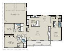 In Law Suite House Plans Ranch Style House Plan 3 Beds 3 00 Baths 1787 Sq Ft Plan 427 9