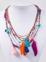 tassel necklace images Boho beaded tassel necklace factory 95 jpg