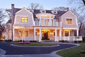 Shingle Style Home Plans New England Shingle Style Architecture Designed By H Gary Frank