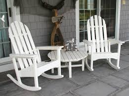 Jefferson Rocking Chair Amazon Com Polywood Adrc 1wh Classic Adirondack Rocker White
