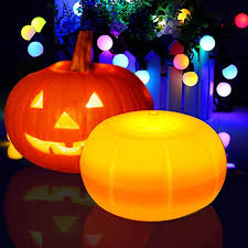halloween pumpkin lights led with remote and timer kohree jack o