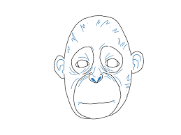 how to draw a monkey vripmaster