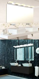 wall fixtures 116880 25w modern bathroom mirror light led tube
