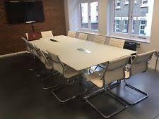 White Boardroom Table with Boardroom Table Ebay