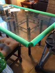 easy cheap baby proof glass table glass table edge corner