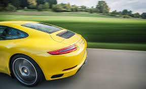 porsche yellow bird you can breathe now porsche 911 carrera s driven car december