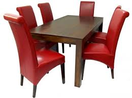 Red Leather Dining Chair Red Leather Dining Chairs Design Leather Dining Chairs U2013 Home