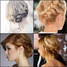 updo hairstyles for fat faces braided twist updo for oval and